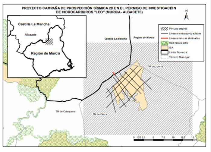El Gobierno aprueba la DIA del proyecto de investigación de hidrocarburos.